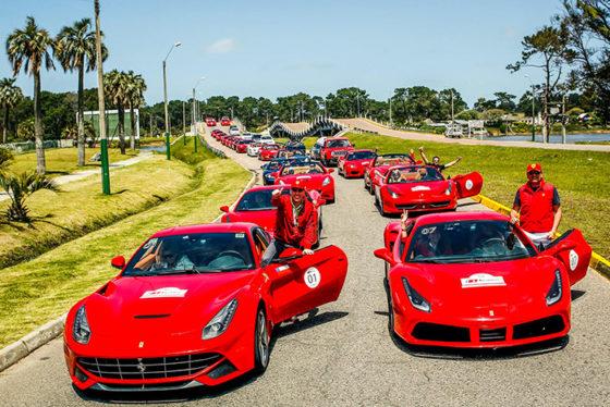 Incontro Ferrari Sudamerica