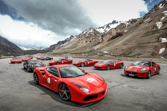 Incontro Ferrari Sudamérica