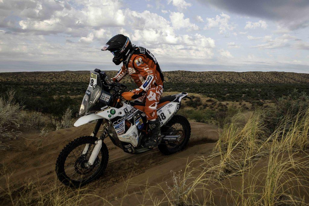 [Dakar 2017] José Ignacio Cornejo fue el mejor chileno en motos