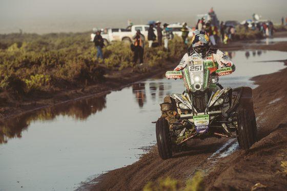 Ignacio Casale (CHL) of Casale Motorsport races during stage 8 of Rally Dakar 2017 from Uyuni, Bolivia to Salta, Argentina on January 10, 2017.