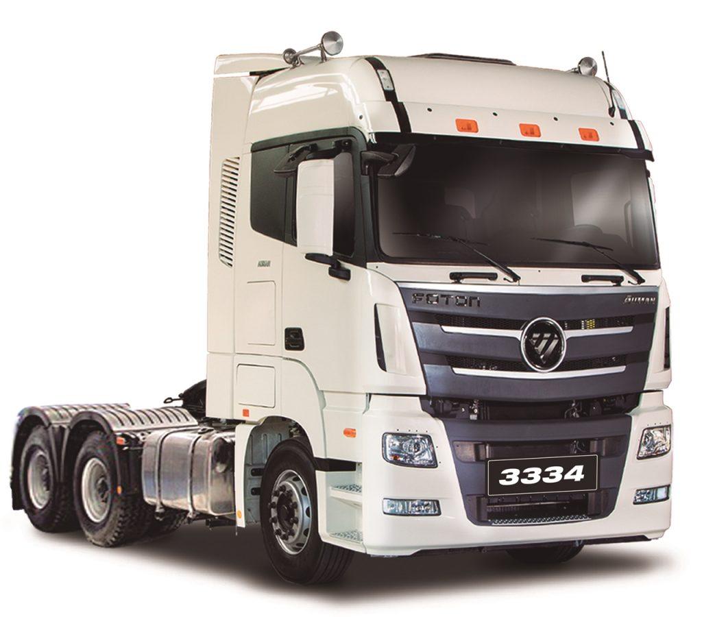 [Camiones] Foton lanza en Chile su tractocamión Auman 3334