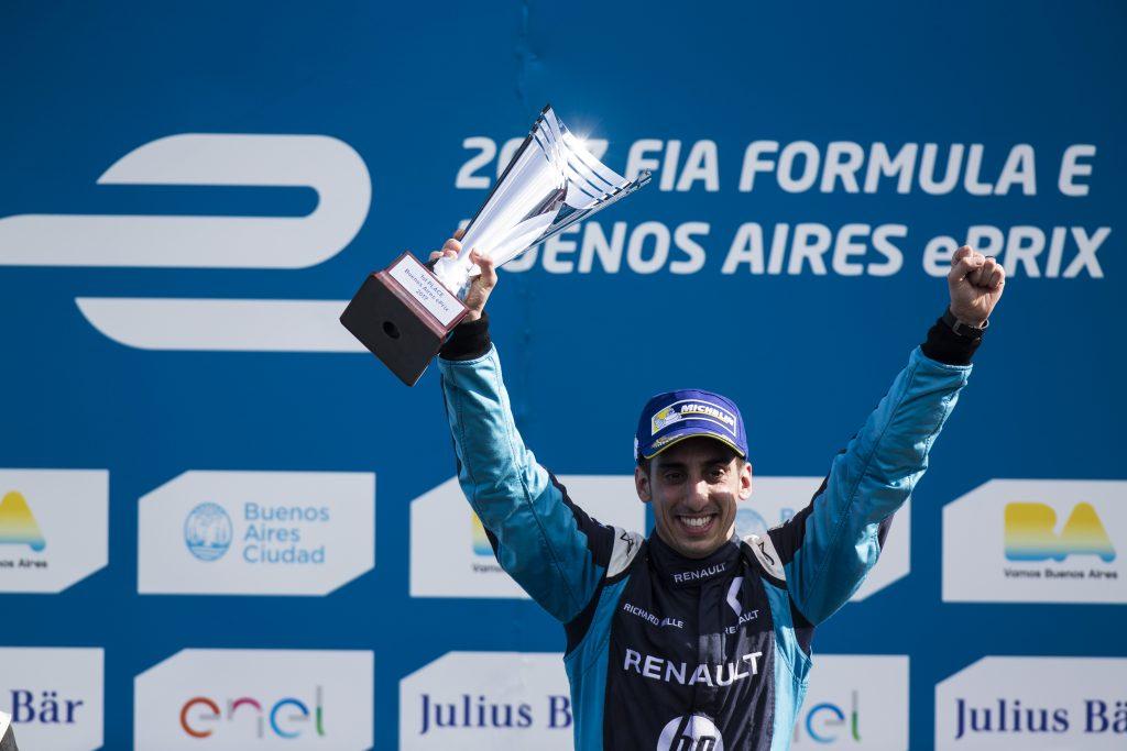 [Fórmula E] Sébastien Buemi sumó su tercer triunfo consecutivo de la temporada en Buenos Aires