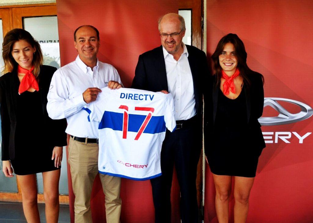 [Eventos] Chery presentó nuevo auspicio a Universidad Católica, bicampeón del fútbol chileno