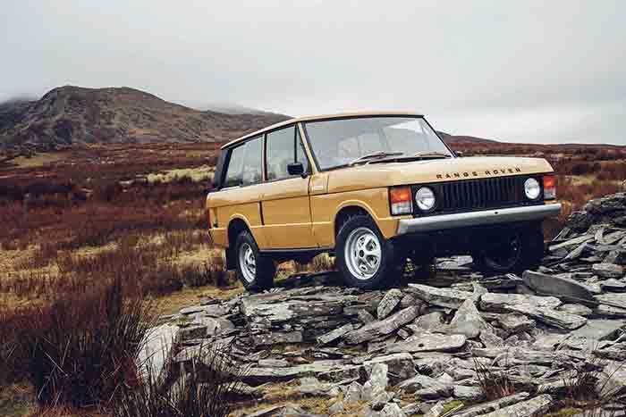 Range Rover Reborn, el gusto por lo vintage en su máxima expresión
