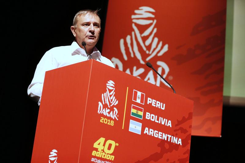 Perú, Bolivia y Argentina serán parte del Dakar 2018