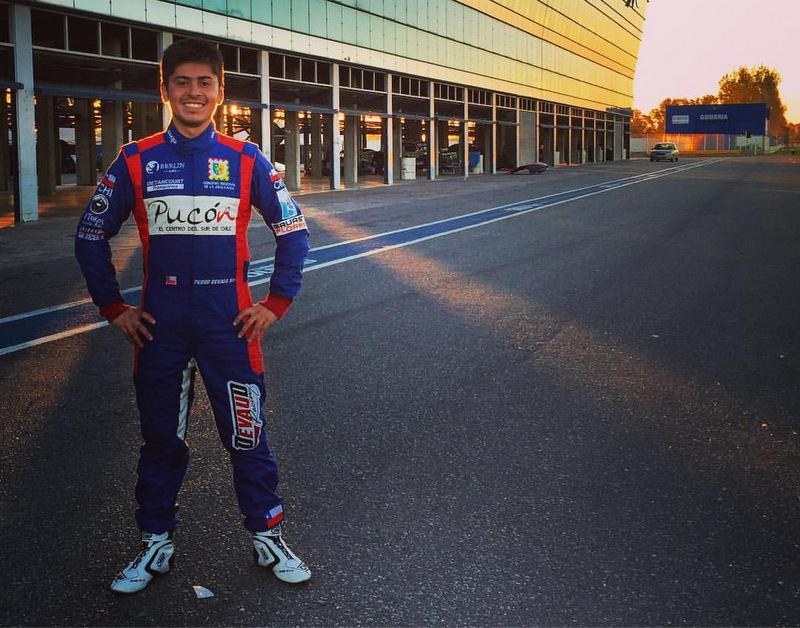 [Chilenos en el exterior] Pedro Devaud estuvo cerca de subir al podio en Argentina