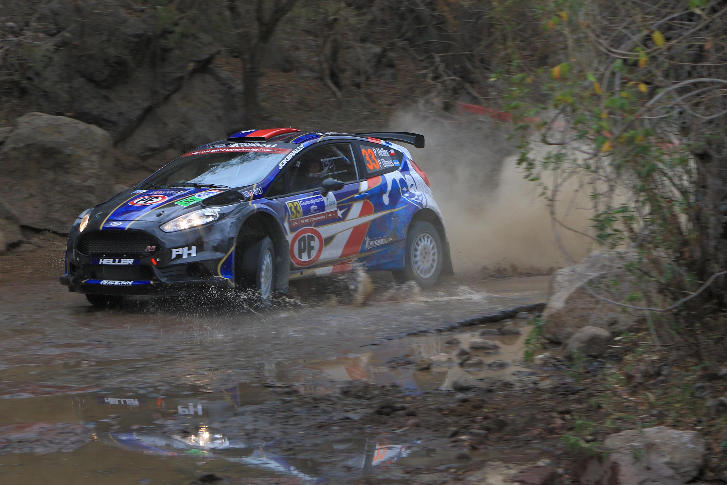 [WRC2] Pedro Heller debutó en el Campeonato Mundial de Rally en México
