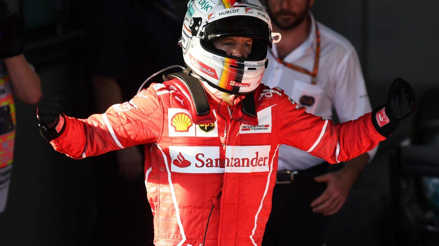 [Fórmula 1] Sebastian Vettel y Ferrari triunfadores en Australia