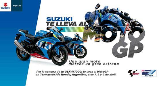 Suzuki te invita al MotoGP