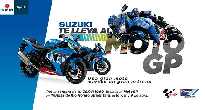 [Concurso] Suzuki Motos te invita al Moto GP en Argentina