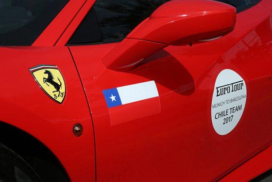 Ferrari Euro Tour 2017