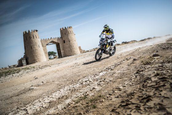 P.Quintanilla1, Etapa 1 Rally Qatar