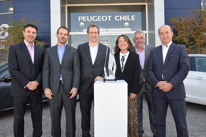 Peugeot Chile es reconocida como la mejor filial del mundo del grupo PSA