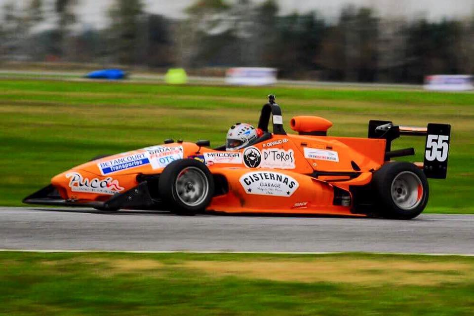 [Chilenos en el exterior/Automovilismo] Pedro Devaud fue segundo en Argentina en una emocionante carrera