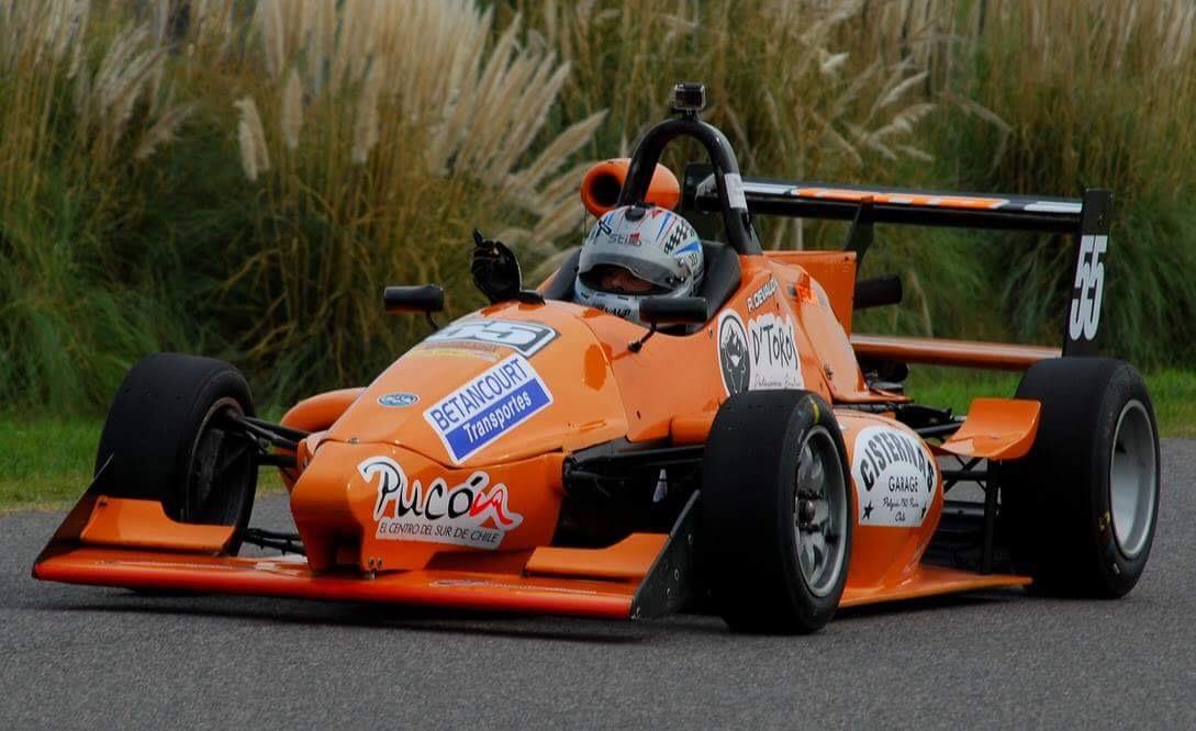 [Chilenos en el exterior/Automovilismo] Pedro Devaud fue noveno en la segunda carrera en Buenos Aires