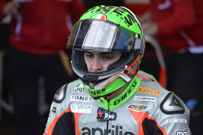 [Chilenos en el exterior/Motociclismo] Maxi Scheib clasificó segundo en Alemania