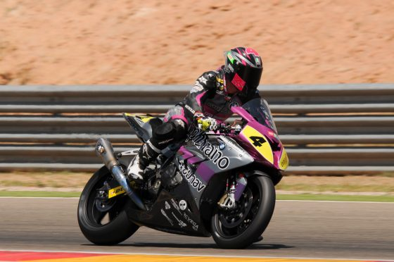 Kruger fue sexto en el Open 1000 (Imagen: Prensa Graphbikes Easyrace SBK Team)