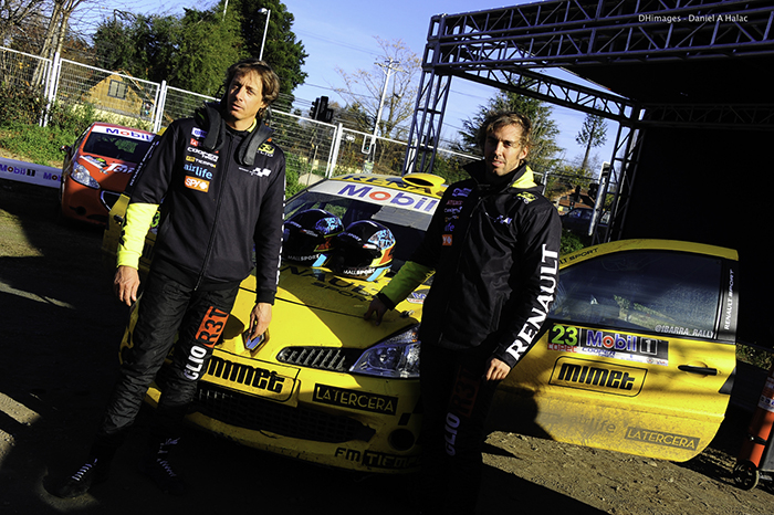 [Rally Mobil] El equipo Renault seguirá en la batalla por llegar al podio de la R3 en Frutillar