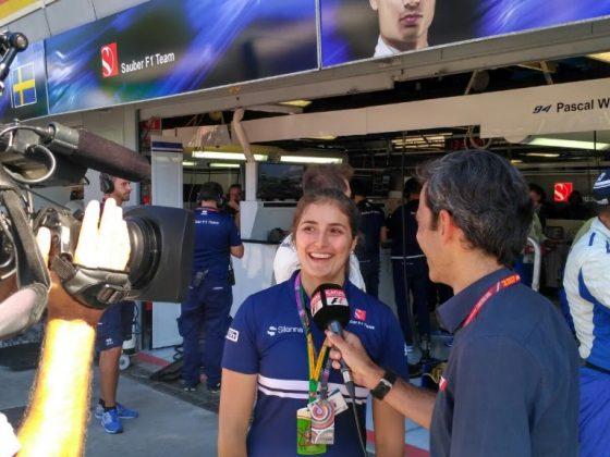 Tatiana Calderón avanzó 13 posiciones en Monza (Imagen: Prensa Tatiana Calderón)