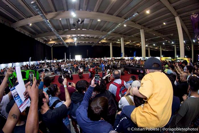 14 mil fanáticos de las tuercas repletaron la Expo Zero 300