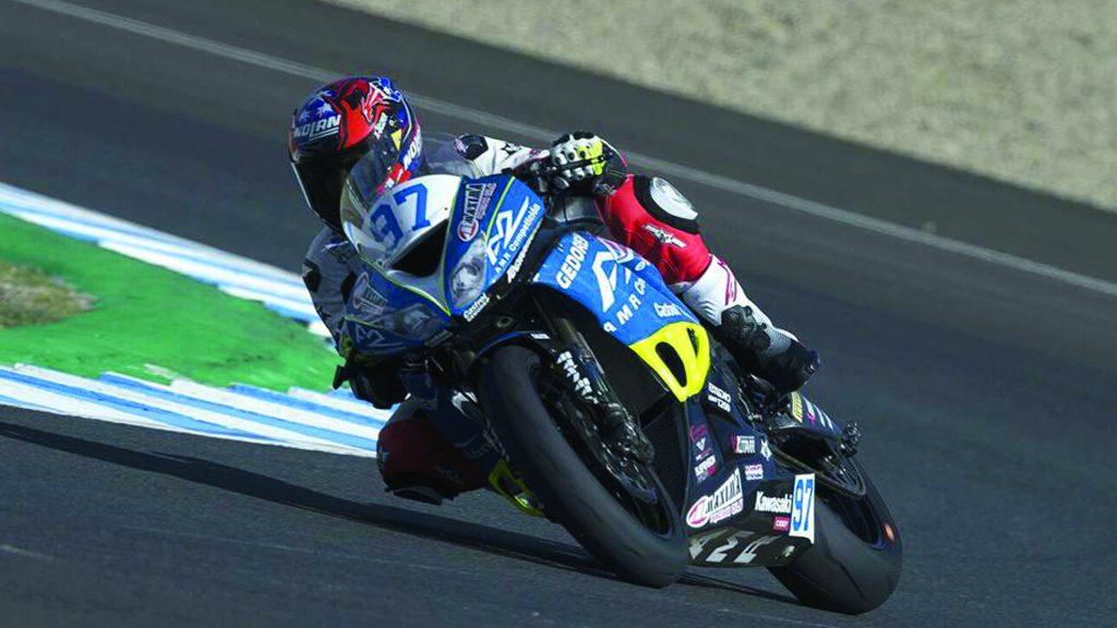 [Chilenos en el exterior/Motociclismo] Martín Scheib abandonó en su debut en el Campeonato Mundial de Supersport