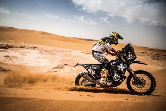 Pablo Quintanilla está a un día de triunfar y reterner el título de Campeón Mundial de Rally Cross Country (Imagen: Marcin Kin/Husqvarna Factory Racing)