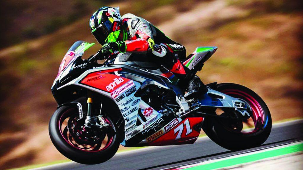 [Chilenos en el exterior/Motociclismo] Maxi Scheib fue décimo en la última fecha del Campeonato Europeo Superstock 1000