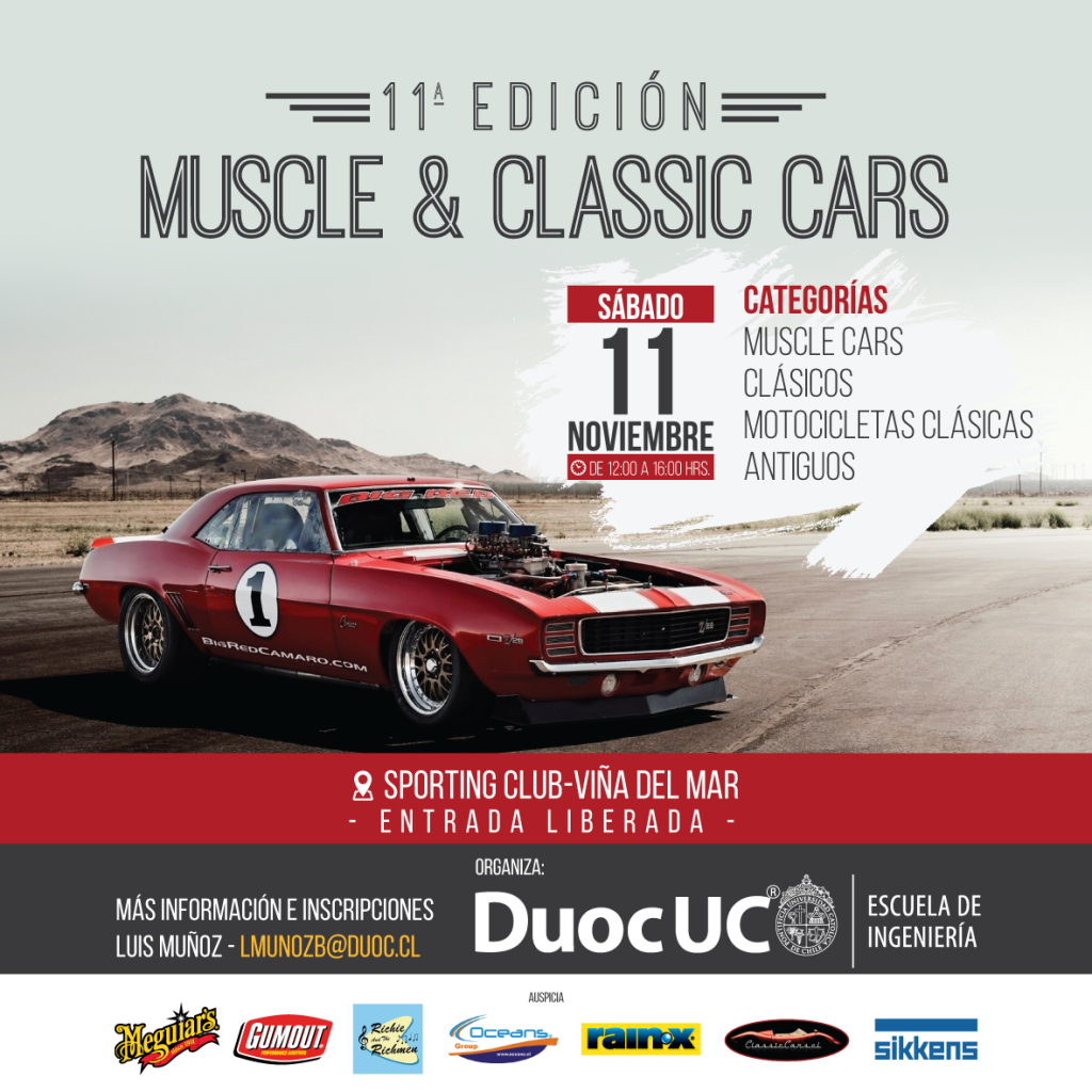 [Eventos] Muscle Car & Classic Cars 2017 Duoc