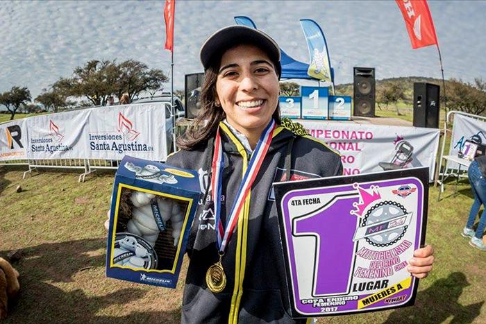 [Motociclismo] Tania González se tituló campeona nacional del Motociclismo Enduro Femenino