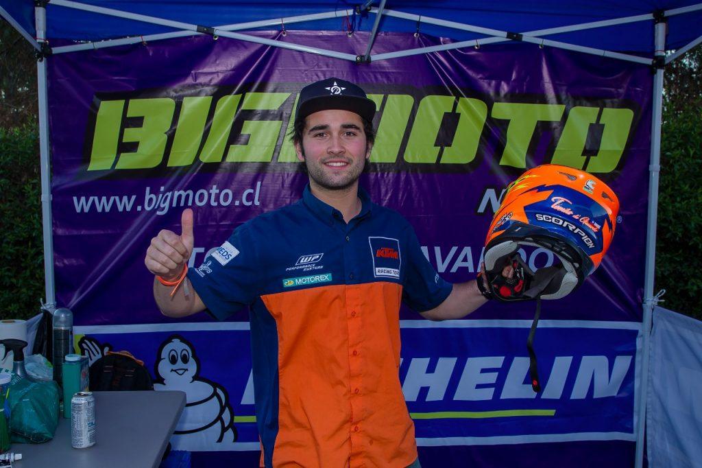 [Motociclismo] Tomás de Gavardo es el nuevo campeón nacional de Rally Cross Country