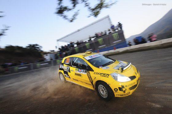 Ramón Ibarra fue tercero en la R3 (Imagen: Daniel Halac/Prensa RallyMobil)