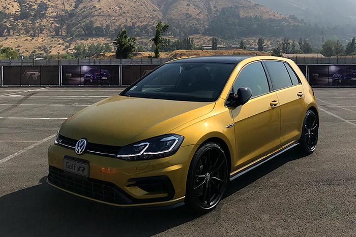 [Lanzamiento] Volkswagen Golf R, el más potente de la familia llega a Chile
