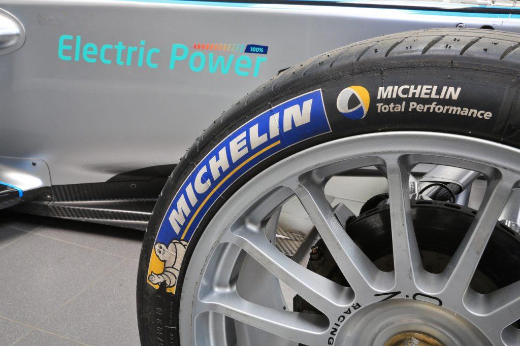 Michelin sigue diciendo presente en el campeonato de la Fórmula E