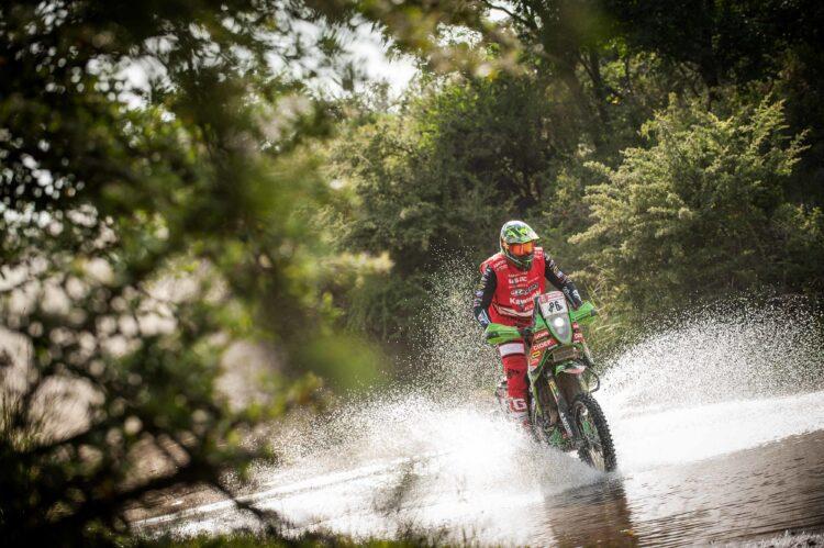 [Dakar 2018/Motos] Patricio Cabrera en la historia chilena del Dakar