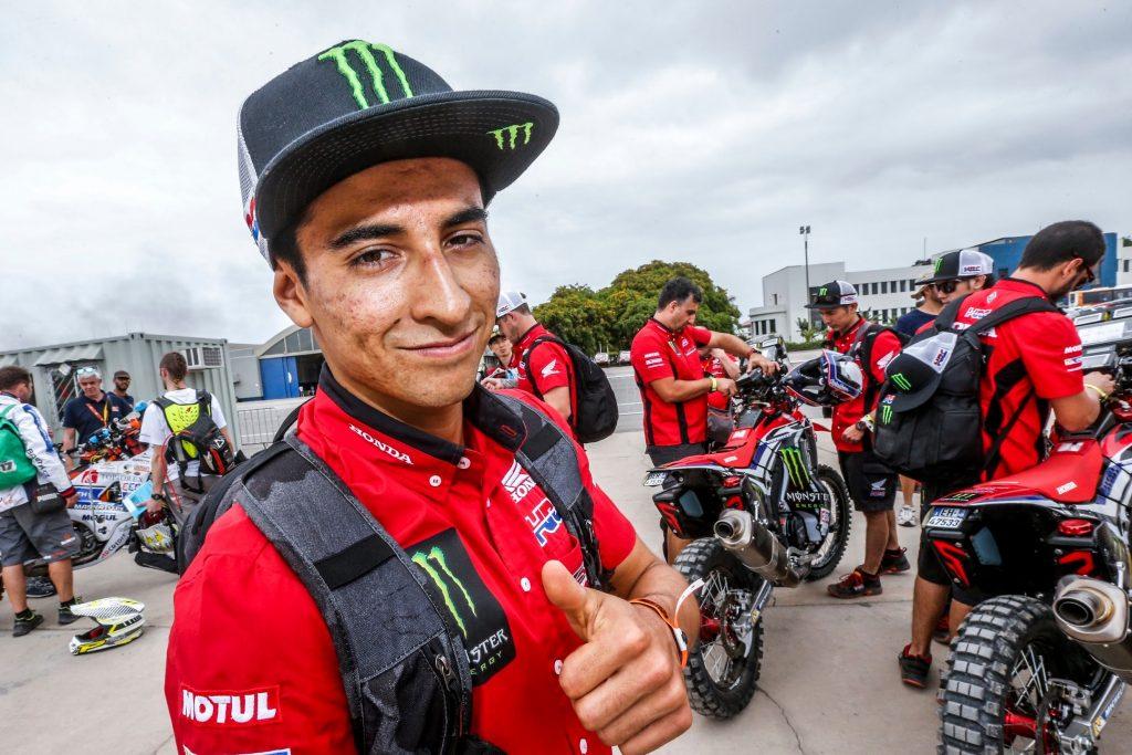 [Dakar 2018/Motos] José Ignacio Cornejo hizo historia al entrar entre los diez mejores