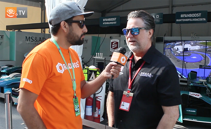 [Fórmula E] Entrevista a Michael Andretti, jefe del equipo MS&AD Andretti
