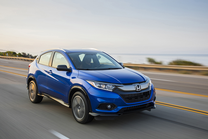 El retocado Honda HR-V 2019 llega a los concesionarios de Chile
