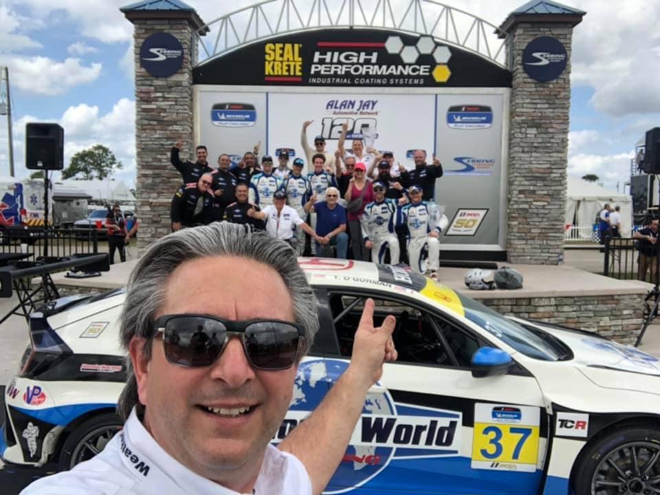 [IMSA Michelín Pilot Challenge] Equipo del chileno Luis Perocarpi triunfó en Sebring