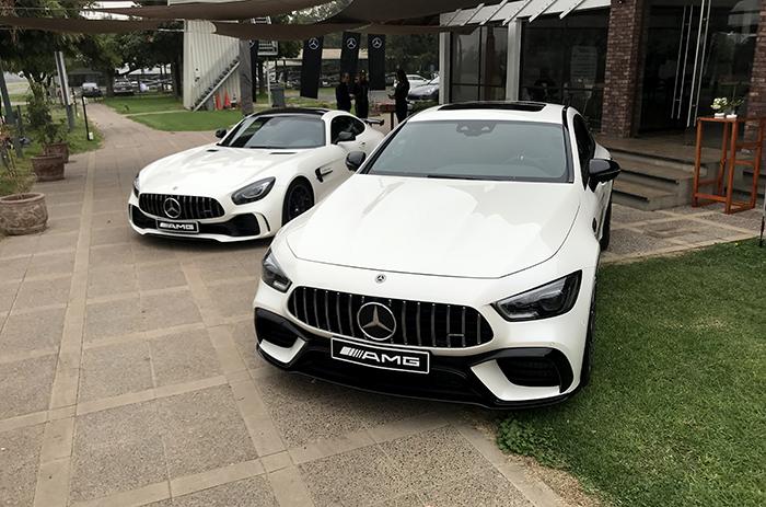AMG Media Day, un día con toda la potencia de los deportivos de Mercedes-AMG