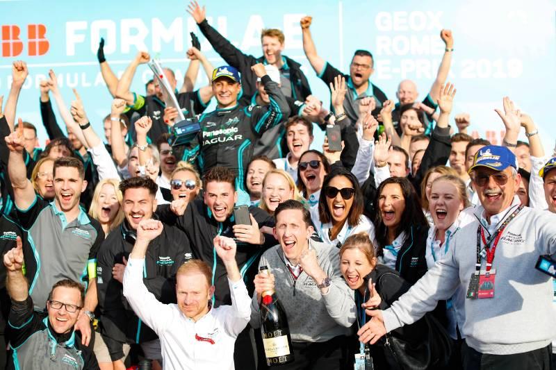 [Fórmula E] Mitch Evans celebró su primer triunfo en la categoría en Roma