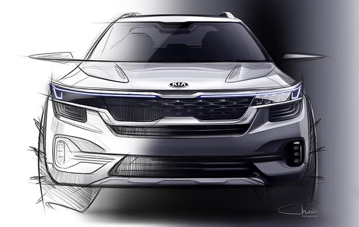 Kia revela la prime imagen de su Small SUV