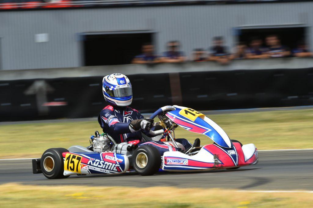 [Chilenos en el exterior] Nicolás Pino se concentra en su debut en Fórmula 4 tras no poder calificar a la final del Mundial de karting en Finlandia